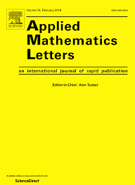 applied mathematics letters sciencedirect com
