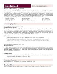 sample resumes for accounting accounting resume sample u2013 foodcity me