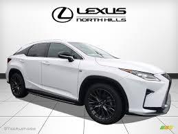 white lexus 2017 interior 2017 ultra white lexus rx 350 f sport awd 118060906 gtcarlot