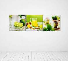 Kitchen Wall Decorating Ideas Themes Photography Kitchen Wall Decor Multi Piece Canvas
