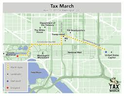 Dc Traffic Map Thousands Expected For Weekend Tax March Wtop