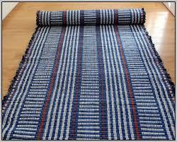 Rag Runner Rug Denim Rag Rug Runner Rugs Home Decorating Ideas Hash