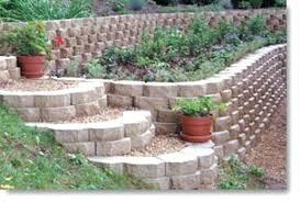 garden wall blocks large 6 in x in x 7 in palomino concrete