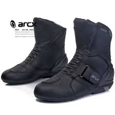 waterproof motocross boots arcx motorbike motorcycle boots real leather breathable motocross