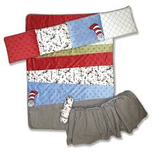 Cat In The Hat Crib Bedding Set Trend Lab Dr Seuss 4 Crib Bedding Set Cat In