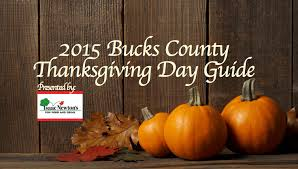 2015 bucks county thanksgiving day guide