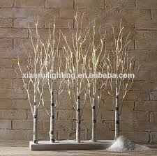 artificial birch trees with lights artificial outdoor indoor lighted branch birch led decorative twig