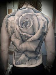 different colored roses tattoo on shoulder tattooimages biz