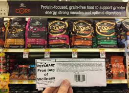 2 free bags of wellness u0026 nutro cat or dog food at petsmart over