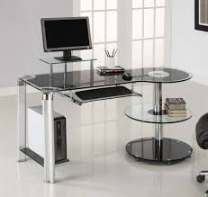 Minimalist Computer Speakers by Furniture Modern Computer Table For Minimalist Workspace Design