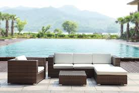 canape tresse exterieur salon jardin tresse awesome salon jardin en rsine tresse par