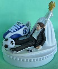 wedding cake liverpool wedding cake topper chelsea football club fc soccer themed