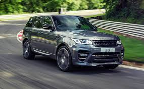 tan land rover overfinch range rover sport is an exquisite piece of kit