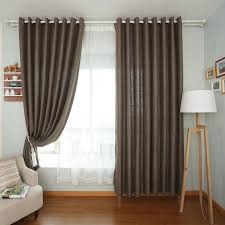 Curtains On Sale Casual Solid Color Linen Curtains Sale