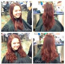one inch hair styles cut off 5 inches and gave her an inverted bob in order to take off