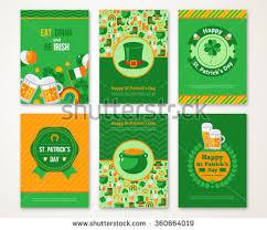 saint patrick u0027s day typographic labels download free vector art