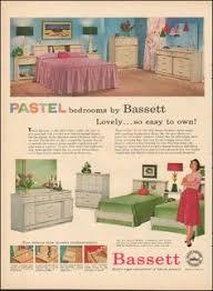 Pastel Bedroom Furniture Provencaux Bedroom Furniture From Bassett 1964 Bedrooms Mid