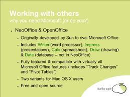Microsoft Office Spreadsheet Free Download Neooffice U0026 Openoffice The Free Alternative To Microsoft Office