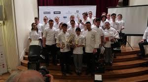 chambre de commerce de reims à reims les japonais remportent le trophée culinaire mille devant