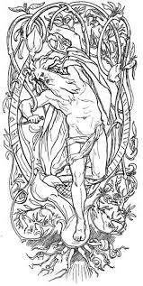 88 best fantasy and pagan colouring coloring pages images on