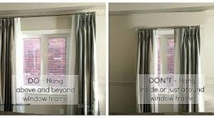 High Window Curtains Curtains For High Windows Lovely When And How To Place Your