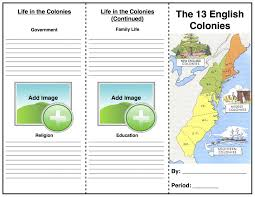 13 Colonies Blank Map Quiz by 13 Colonies Crawford U0027s History In The Making