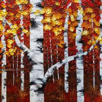 birch aspen tree series mckinnon artist