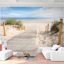 Fototapete Schlafzimmer Blau Vlies Fototapete Meer Wandtapete Strand Dekodealz De