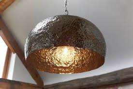 Hammered Copper Pendant Light 15 Inspirations Of Hammered Copper Pendants