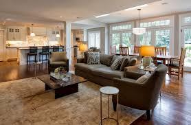 open floor plan homes open floor plan living room and dining room