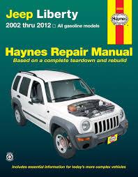 liberty jeep 2002 jeep liberty 2002 2012 haynes repair manual usa haynes