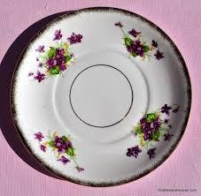 vintage china pattern vintage china violets cake plate c 1940s