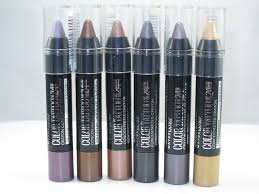 maybelline color concentrated crayon review swatches