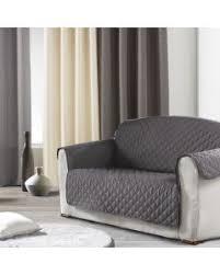 housse de canapé trois places ᐅ achetez housse canapé 3 places linge de maison déco fr