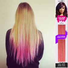 lush hair extensions lush hair extensions hagan colourful range in pink