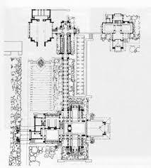 fllw darwin martin house plan arts u0026 crafts houses pinterest