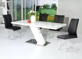 white modern dining table set white modern table expandable white dining table modern dining