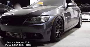 Nissan Gtr Turbo - bimmerboost single turbo e92 335i n54 on e85 vs alpha 7 nissan