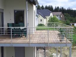 balkon metall stahlbalkonanlagen metall enorm in form trier