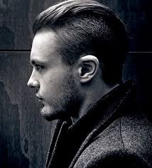 hair cut for men shaved on sides slicked back on top undercut haircuts 2018