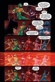 batman power rangers comicnewbies
