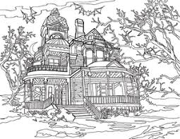 new coloring pages bookshelf father u0027s day haunted house