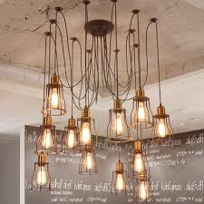 beautiful diy industrial chandelier home decor ideas aisini edison
