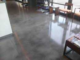 Laminate On Concrete Floor Gray Stained Concrete Floors 12948