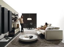 unique incredible interior design living room black and white