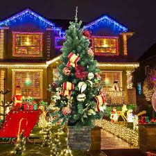home depot black friday artifical trees blue christmas light twinkling christmas tree lights meijer