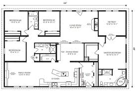 attractive inspiration ideas 16 x 80 mobile home floor plans 8