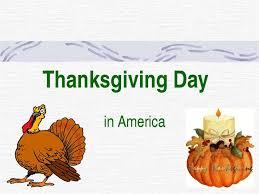 thanksgiving day in america презентація з англійської мови
