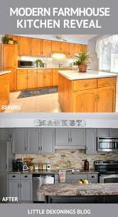 Photos Of Painted Kitchen Cabinets by Best 20 Oak Cabinet Kitchen Ideas On Pinterest Oak Cabinet