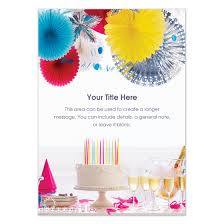 festive birthday invitations cards on pingg